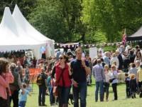 Families enjoy Bunbury Church Fete in the sun