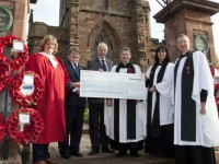 War memorial at Bunbury church given £2,400 boost