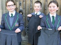 Bunbury youngsters donate old school uniform to Uganda orphans