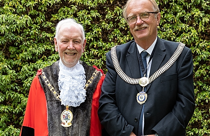councillors - Burkhill and Edgar - Cheshire East Mayor