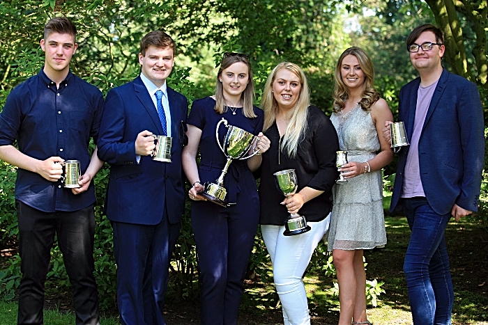 Business and Events - Marc Latham, Oliver Dimelow, Lucie Hine, Cerys Owen, Charlotte Heath, Ewan Taylor (1)