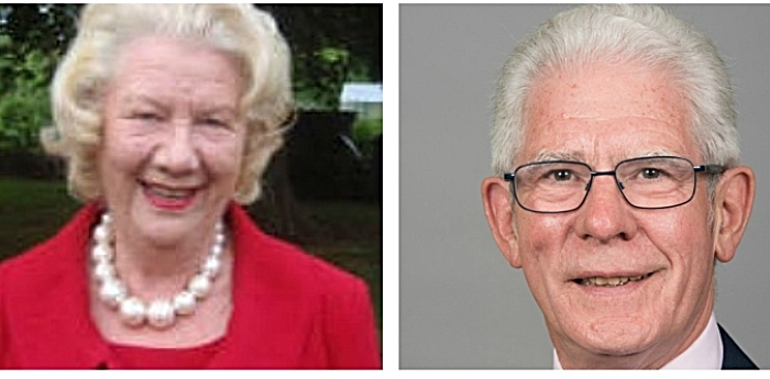 Butterill and Moran - Independent councillors