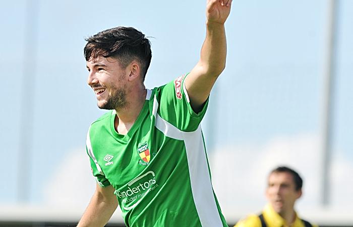 Scorer against Worksop - CALLUM SAUNDERS v Lancaster