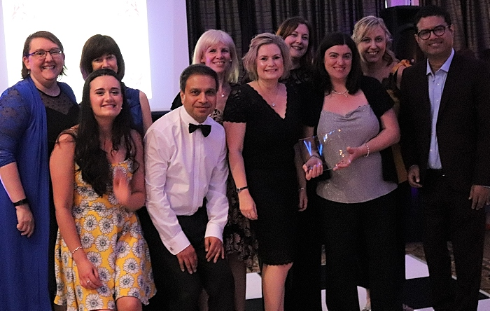 CCICP Diabetes - NHS team wins award