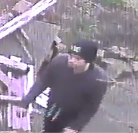 CCTV image of man detectives want to speak to 1