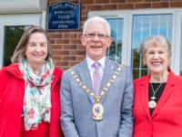 Mayors join Macmillan Coffee Morning at Nantwich bowling club