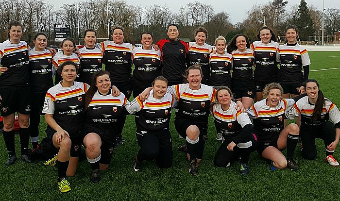 Carlisle - Crewe and Nantwich RUFC ladies