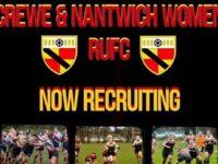Crewe & Nantwich RUFC Women launch recruitment drive