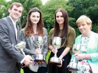 Nantwich students celebrate awards at Reaseheath College