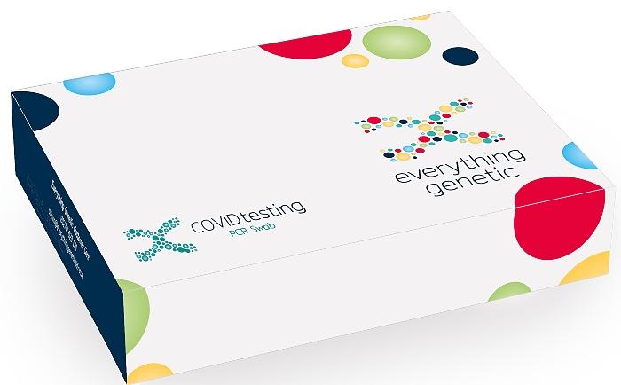 COVID test kits PCR Swab box