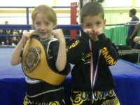 Nantwich Thai boxing youngsters crowned among UK's best