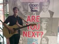 Two Nantwich teenagers reach Open Mic UK area final