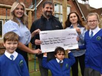 Boughey staff step up to raise funds for Calveley Primary School