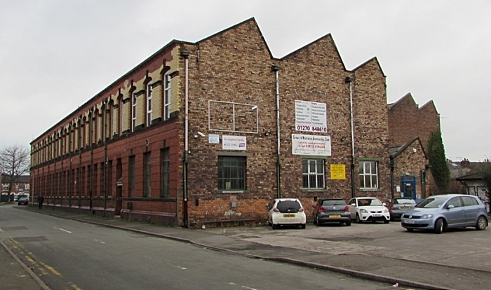 Camm Street gymnastics centre - pic by Jaggery under creative commons licence
