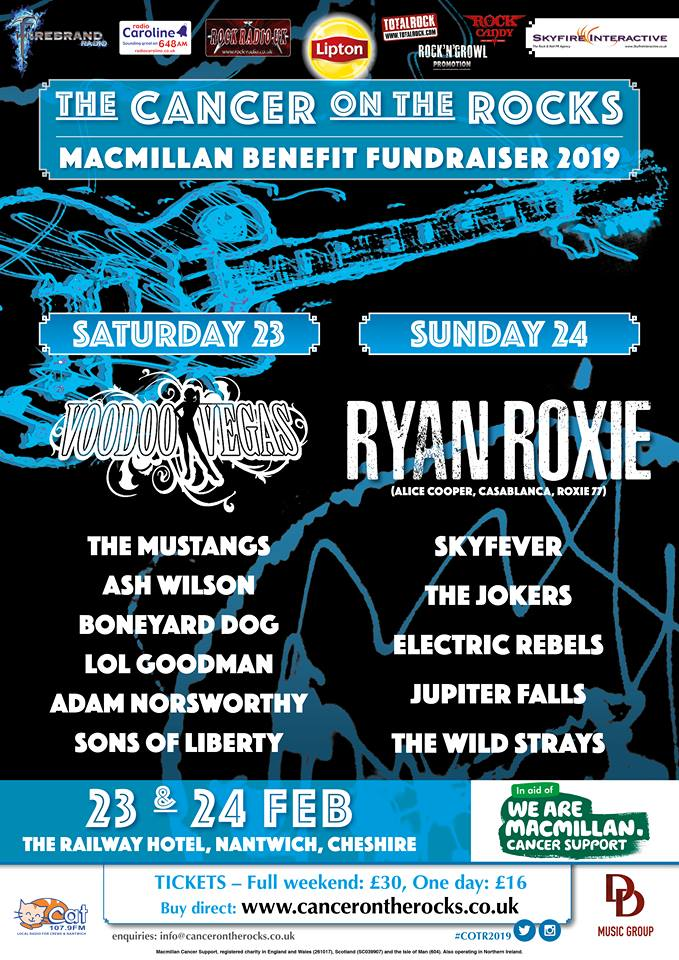 Cancer On The Rocks 2019 poster - 22-1-19