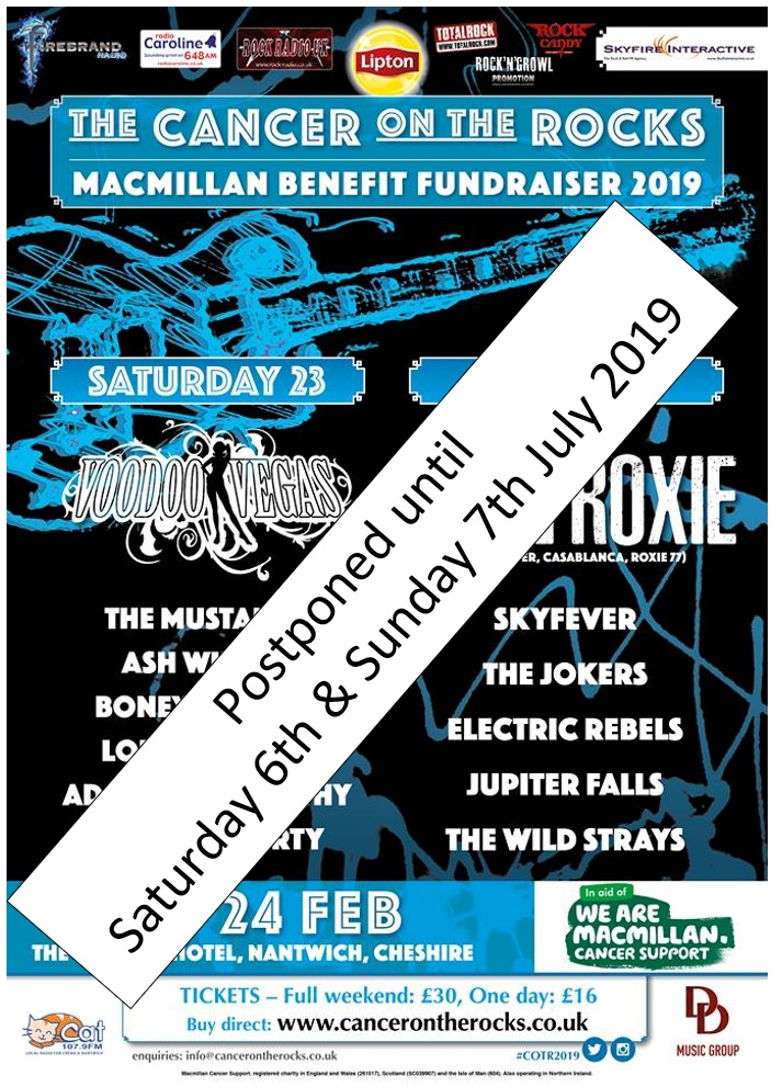 Cancer On The Rocks 2019 poster
