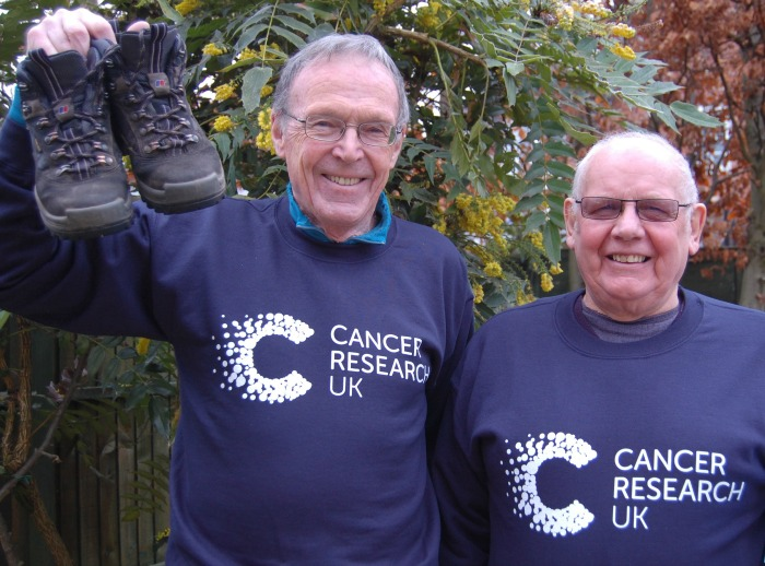 Cancer Research UK - Striding the Sandstone