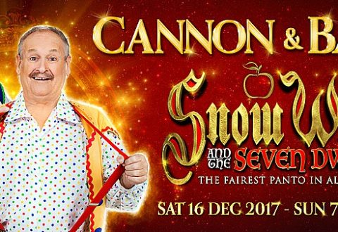 Review: Cannon and Ball return is massive hit at Crewe Lyceum panto