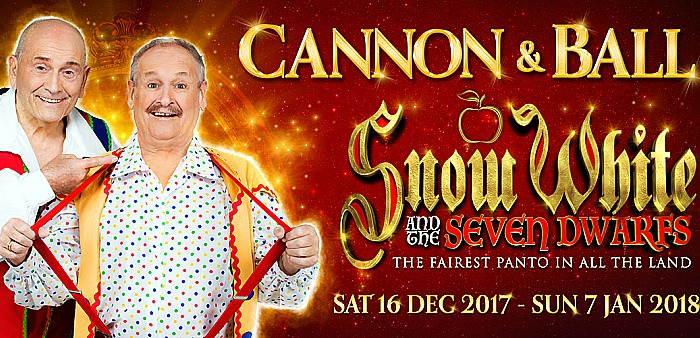 Cannon and Ball at Lyceum panto