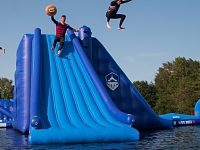 New watersports and aqua park opens in Cheshire