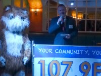 The Cat Community Radio 107.9FM launches in Nantwich with a bang