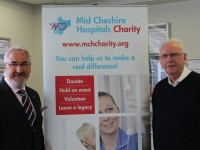 Pete Waterman made Patron of Mid Cheshire Hospitals Charity