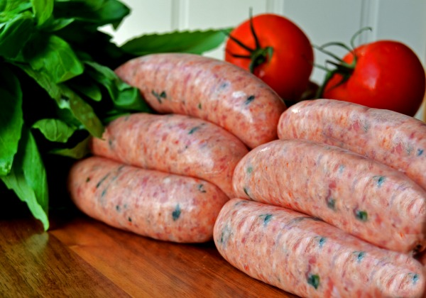 Cheerbrook Tomato & Basil Sausages