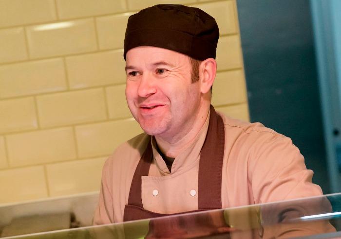 Cheerbrook head butcher Simon Roberts, Big Taste event and sausage fest