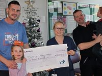 Boughey Distribution team raises £6,000 for Leighton neonatal unit