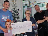 Boughey Distribution team raises £6,000 for Leighton neonatal unit