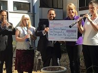 Orchestra helps raise more than £1,000 for South Cheshire dementia appeal