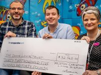 Weston Christmas Lights hands over £32,540 to Donna Louise Hospice