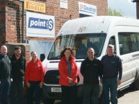 South Cheshire tyre firm keeps Buddy Scheme on track