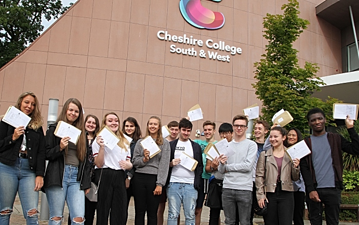 Cheshire College - South & West A Level results