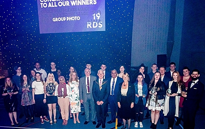 Cheshire College awards night