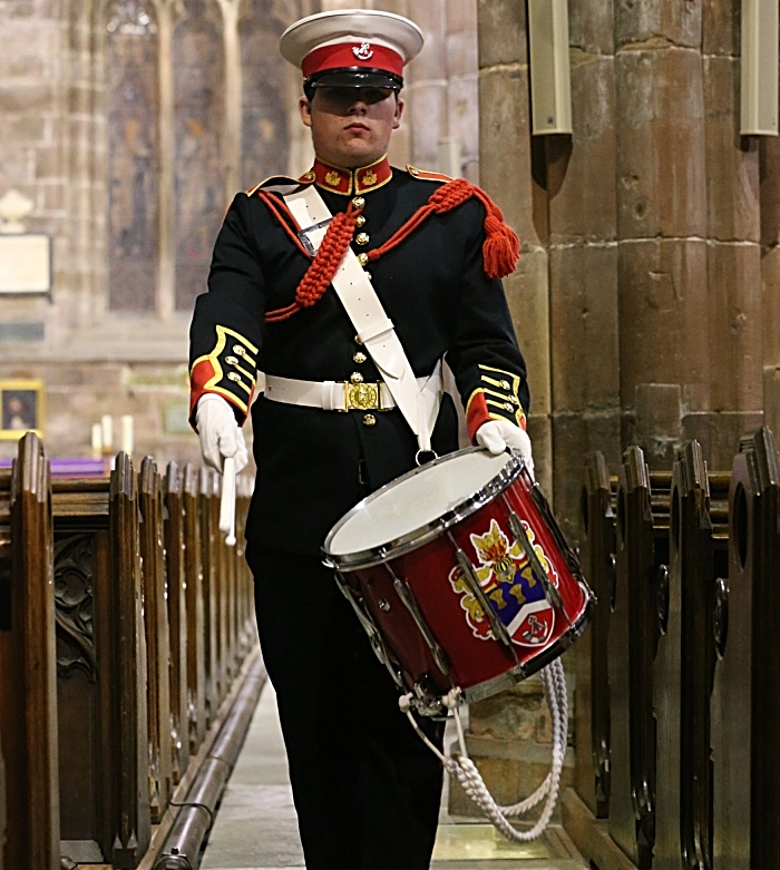 Cheshire Drums and Bugles drummer (1)