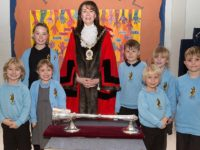 Stapeley pupils enjoy Cheshire East Mayor visit