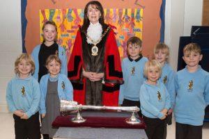 Stapeley pupils enjoy Cheshire East Mayor visit