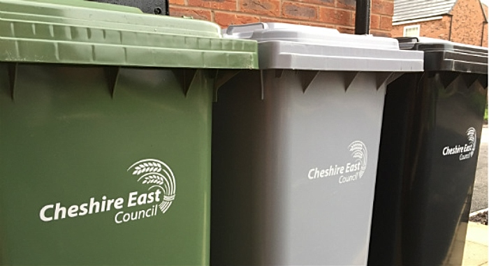 Cheshire East bin collections
