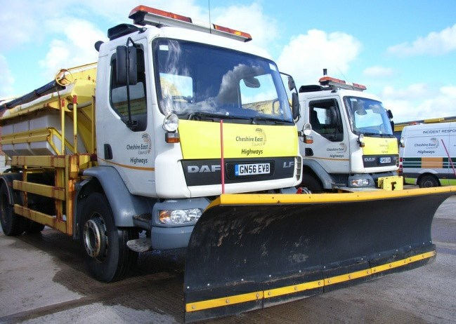 Cheshire East gritting fleet ready for winter