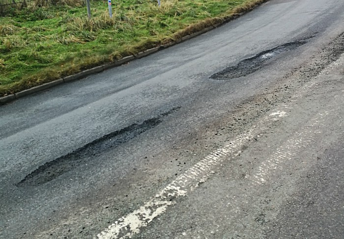 Cheshire East over pothole claim in Weston
