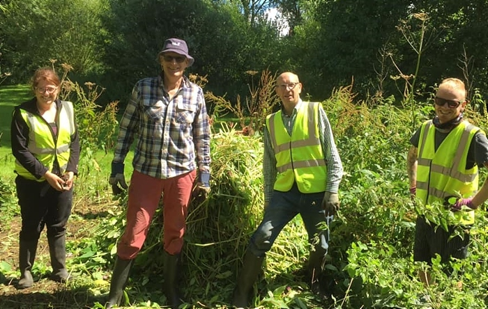 Cheshire East volunteers in the community (1)