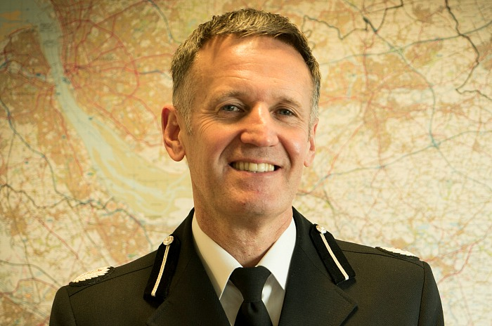 safety of officers - Cheshire Police ACC Darren Martland