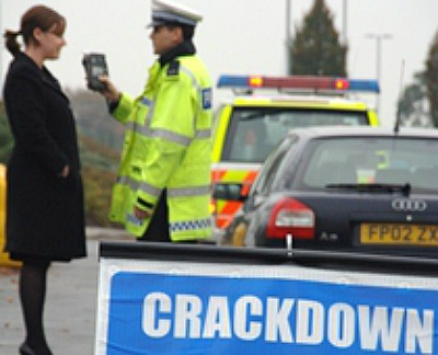 drink and drug driving crackdown - Cheshire Police Drink Drive campaign
