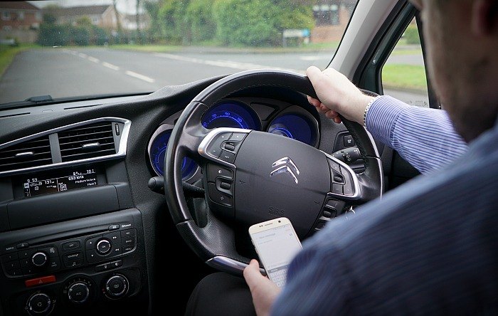 Cheshire Police - double penalty for drivers using mobiles from March 1 2017