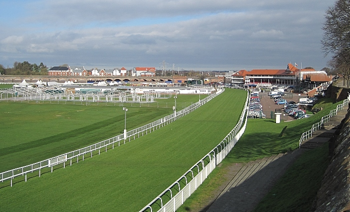 Chester Racecourse by Ian Pudsey