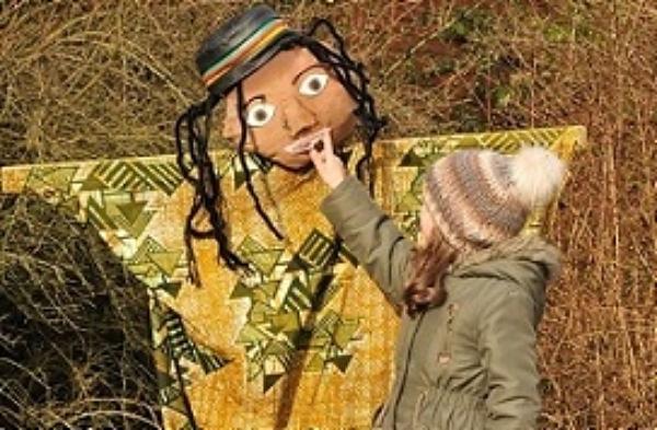 Child with Scarecrow - Tatton Park