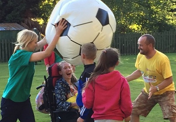 Appeal - Children enjoy a variety of activities at The Wingate Centre