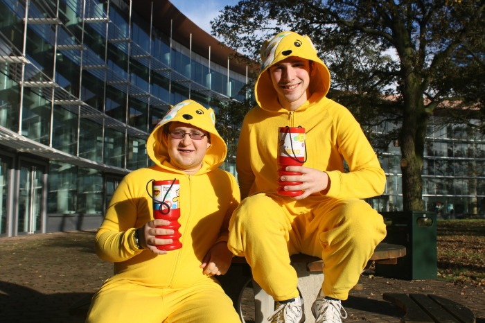 Children in Need, South Cheshire College