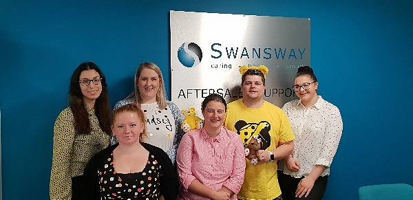 Children in Need Swansway Group